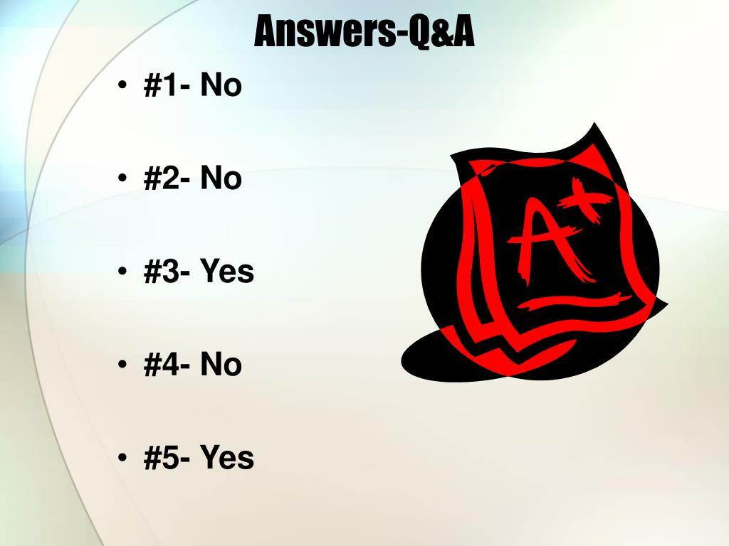 Answers-Q&A