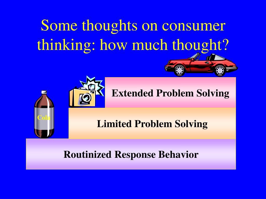 Limited Problem Solving