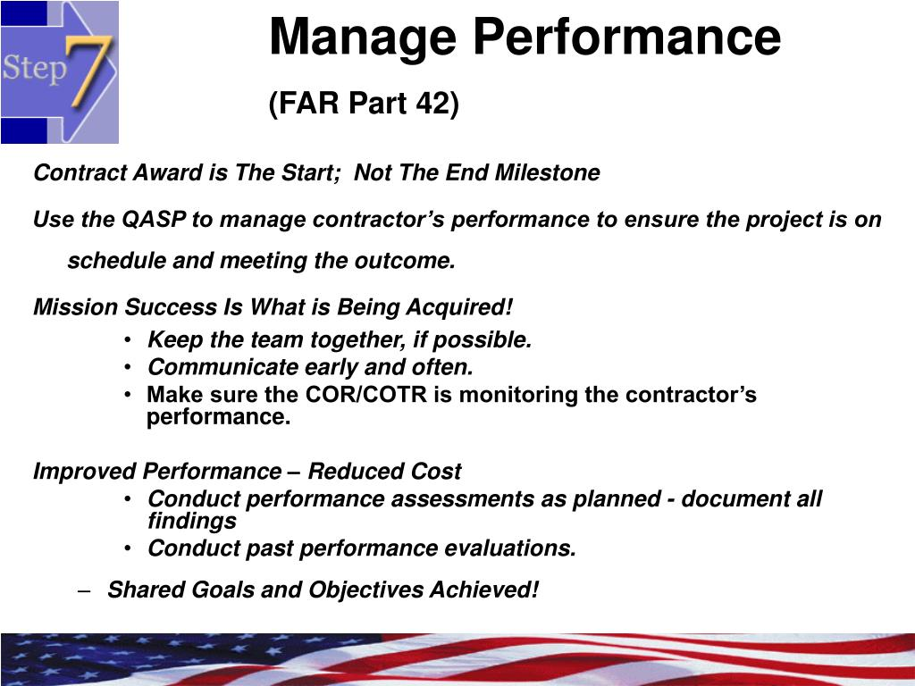 Manage Performance