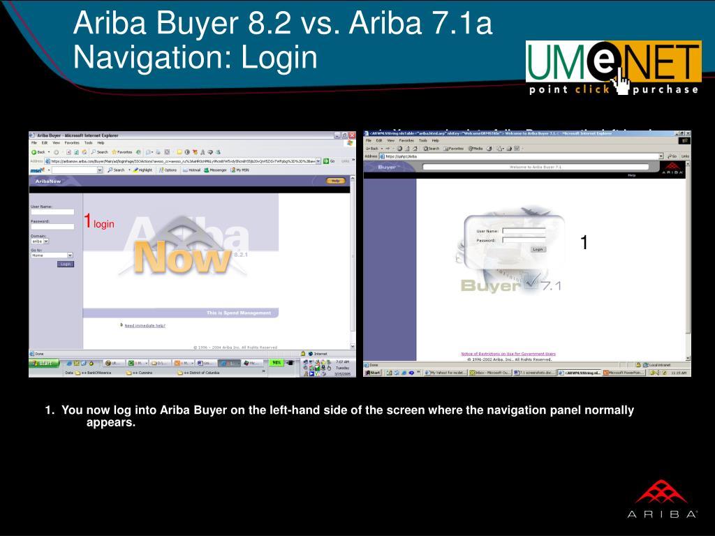 Ariba Buyer 8.2 vs. Ariba 7.1a
