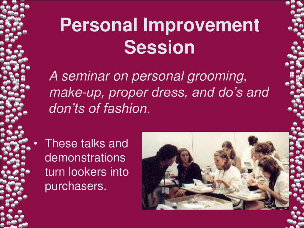 Personal Improvement Session