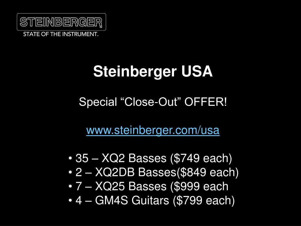 Steinberger USA