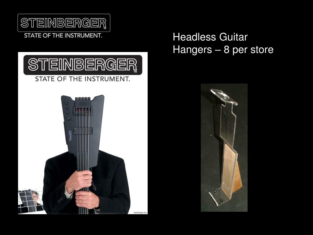 Headless Guitar Hangers – 8 per store
