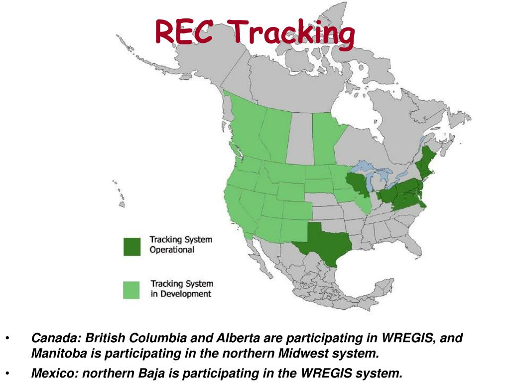 REC Tracking