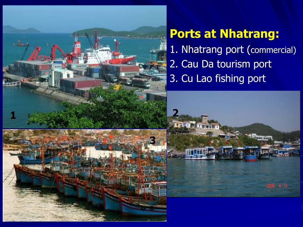 Ports at Nhatrang: