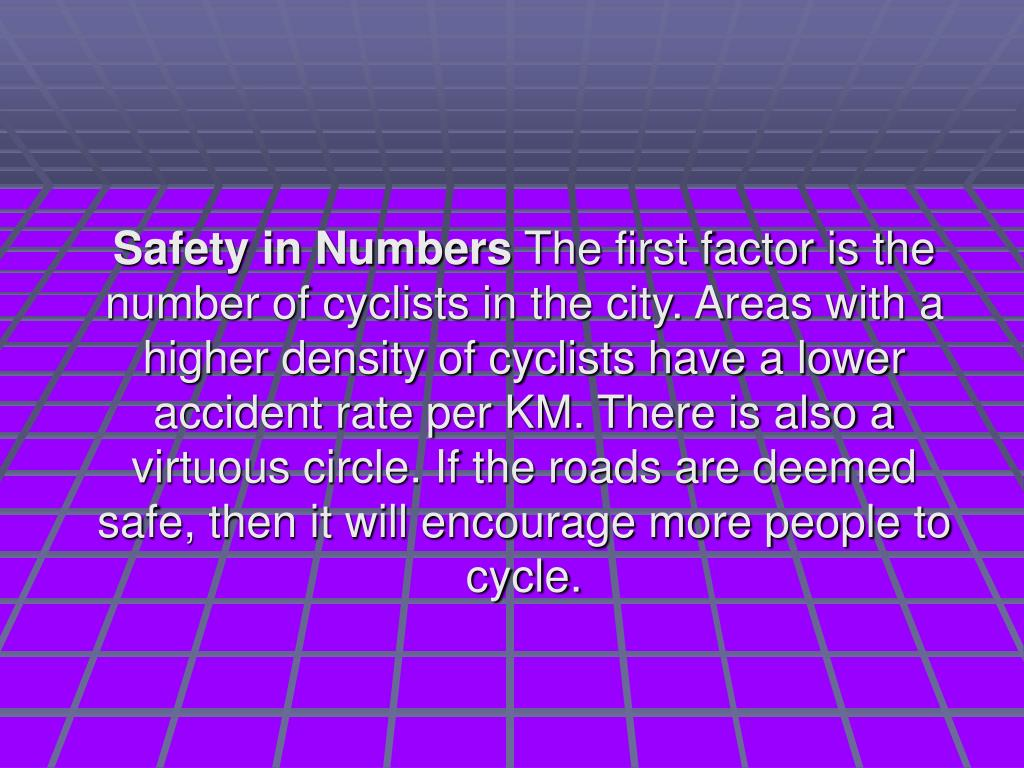 Factors That Influence Bike Safety