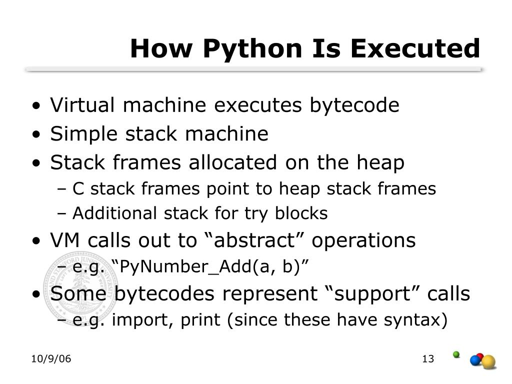 How Python Is Executed