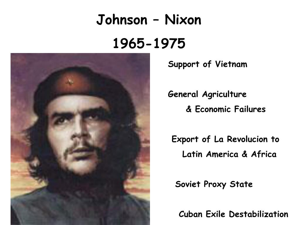 Johnson – Nixon