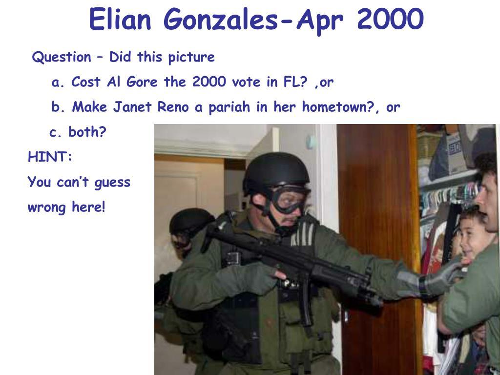 Elian Gonzales-Apr 2000