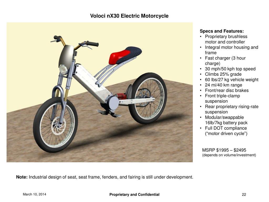 Voloci nX30 Electric Motorcycle