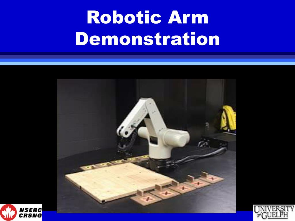 Robotic Arm Demonstration