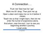 a connection