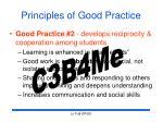 principles of good practice21