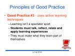 principles of good practice22