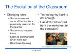 the evolution of the classroom13