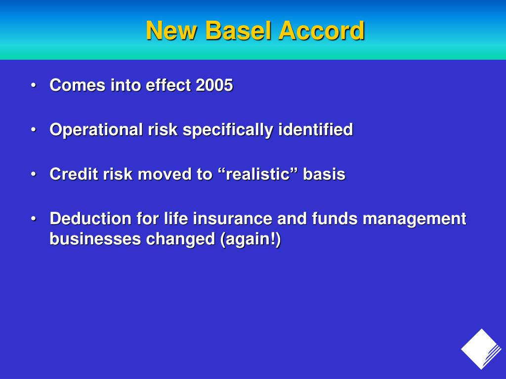New Basel Accord