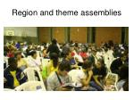 region and theme assemblies