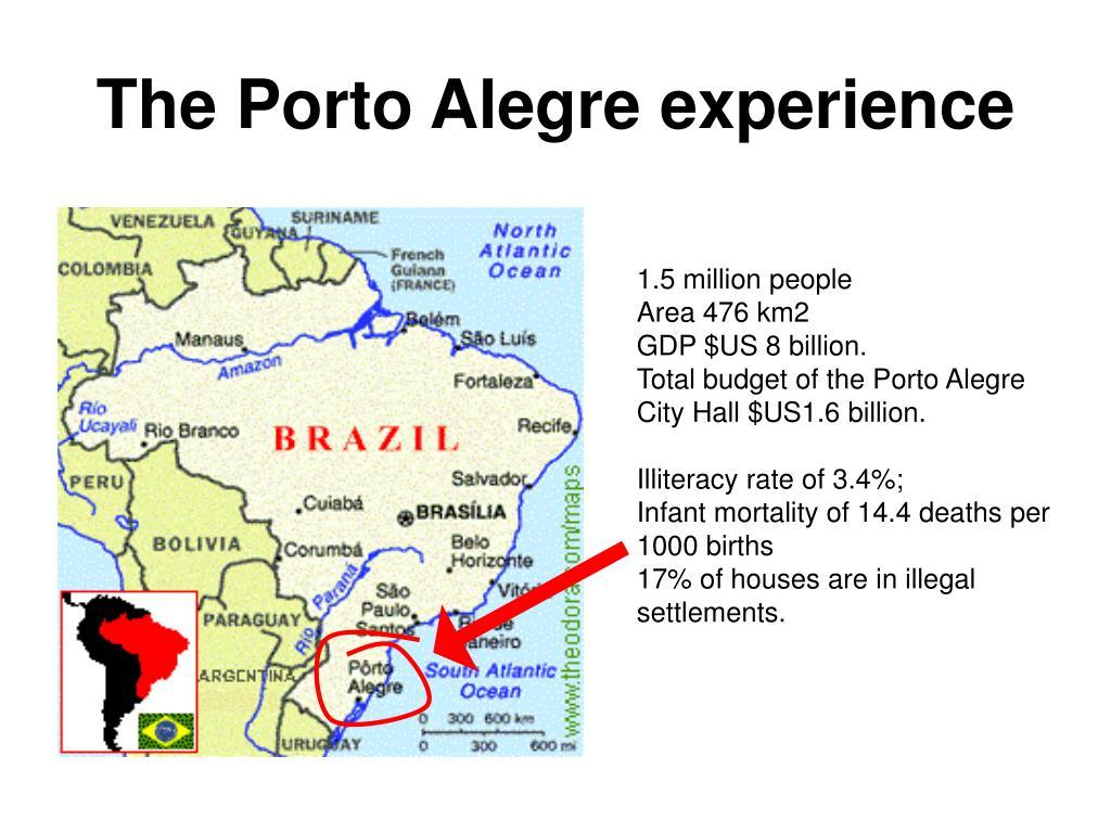 The Porto Alegre experience