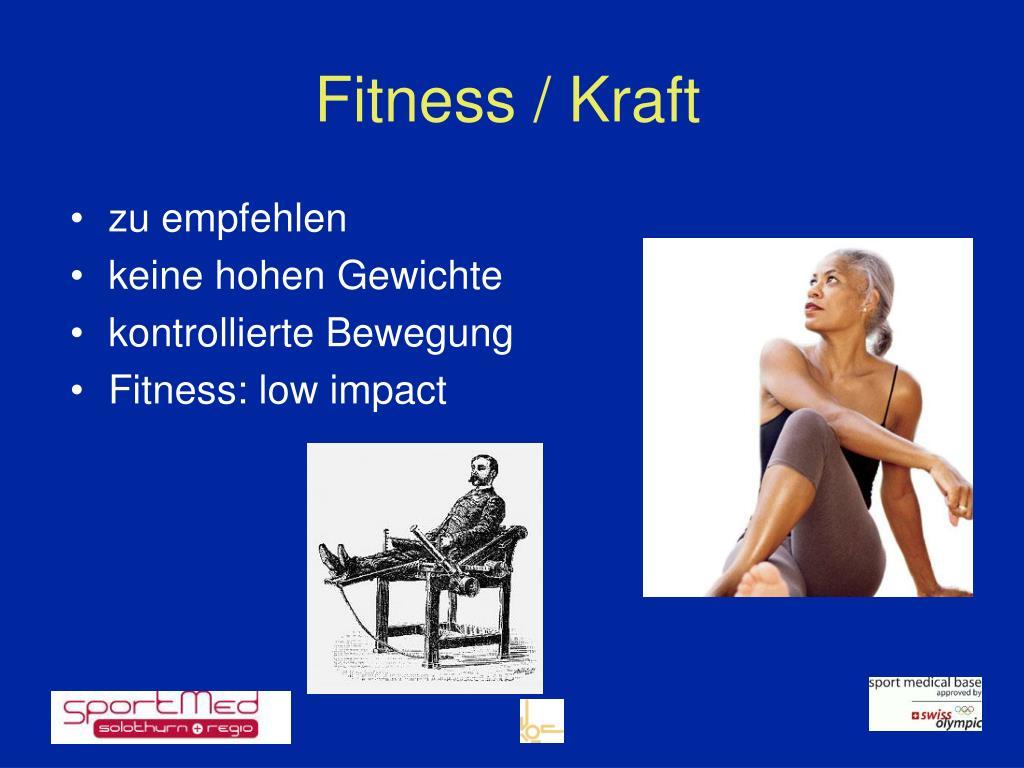Fitness / Kraft