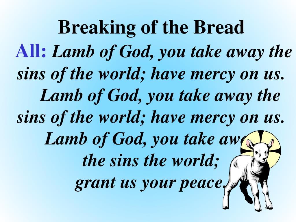 Breaking of the Bread