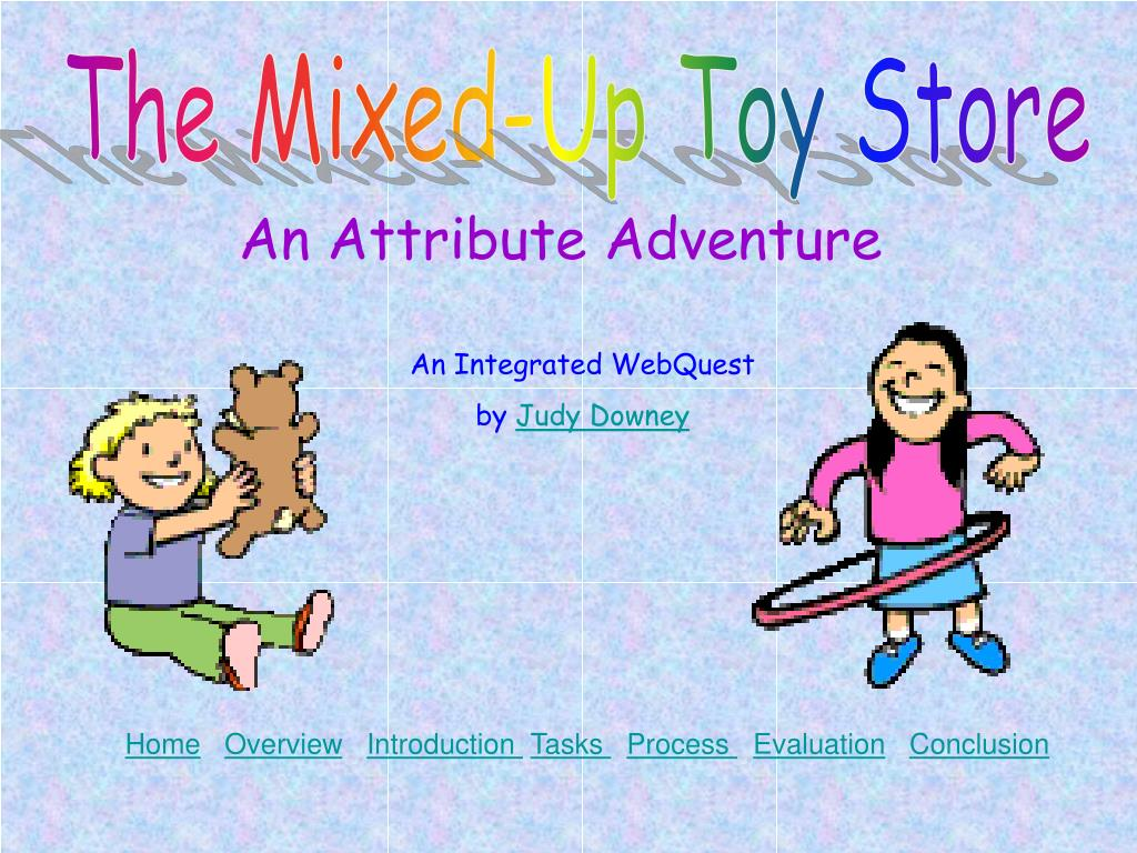 The Mixed-Up Toy Store