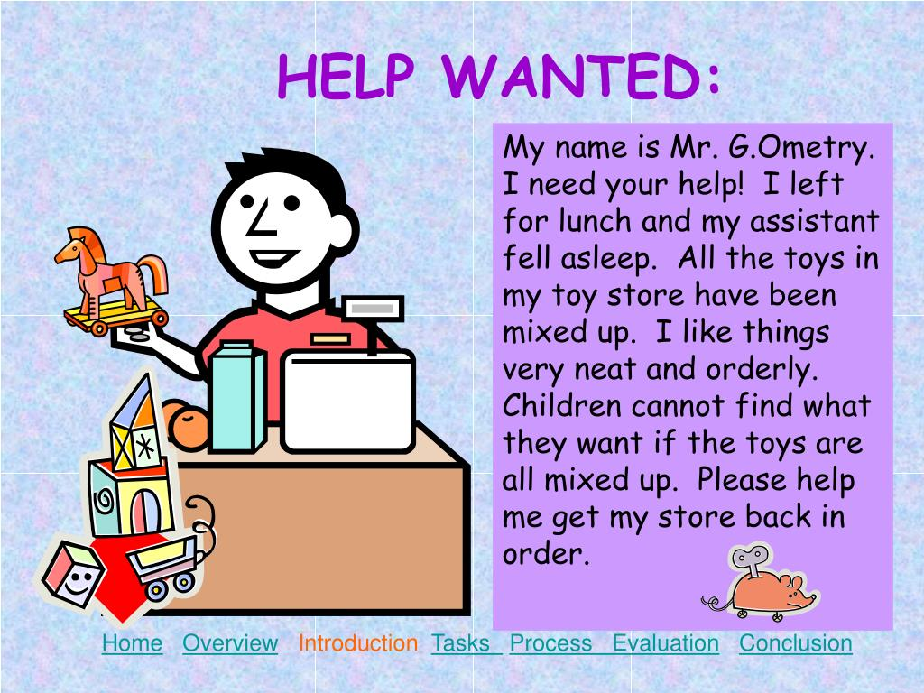 HELP WANTED: