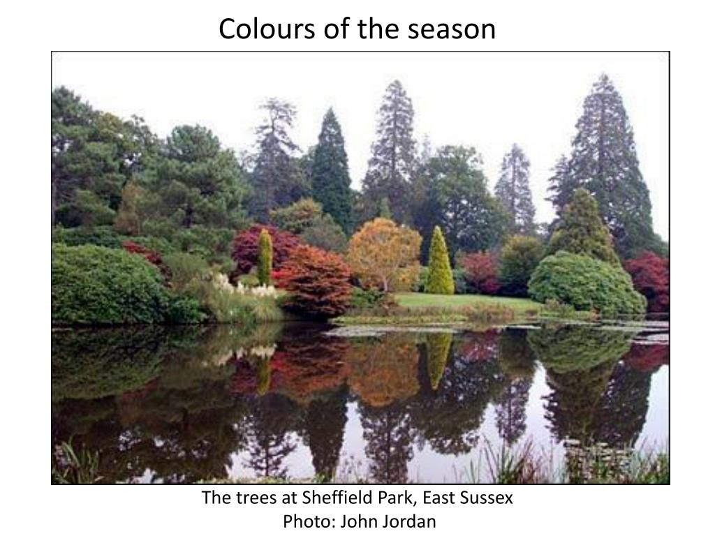 Colours of the season