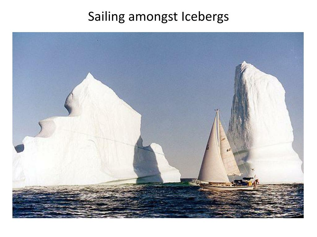 Sailing amongst Icebergs