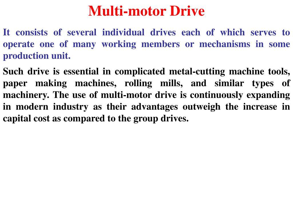 Multi-motor Drive