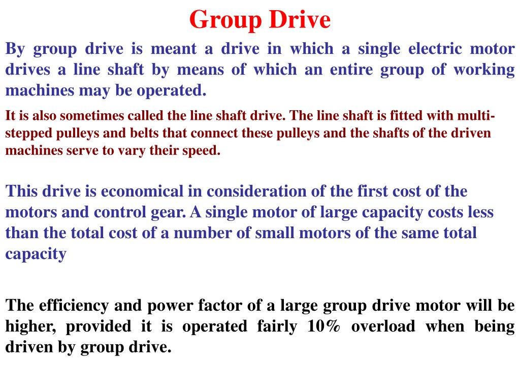 Group Drive