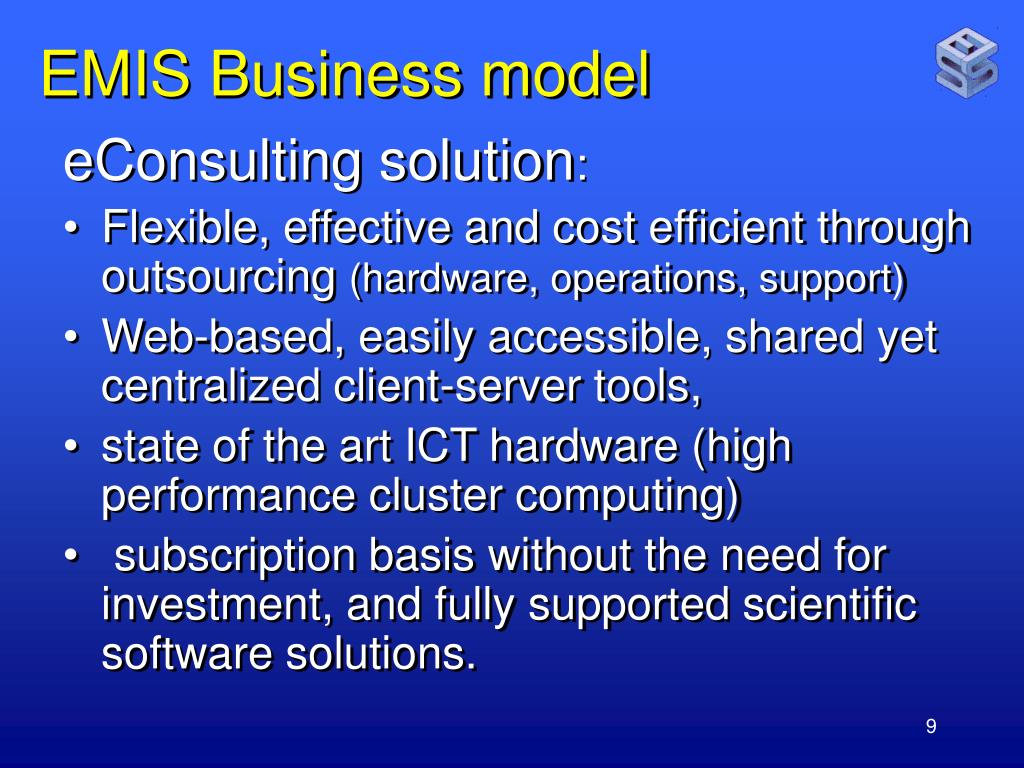 EMIS Business model