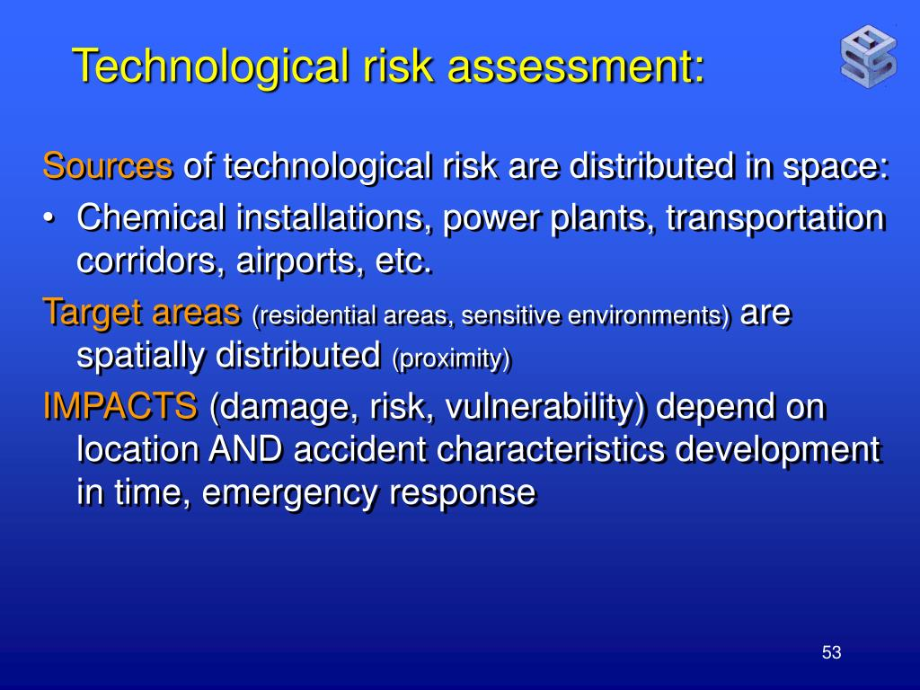 Technological risk assessment: