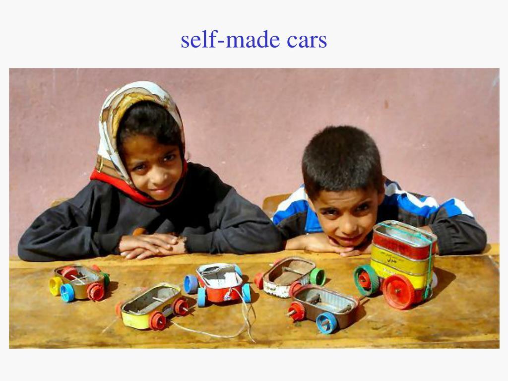 self-made cars