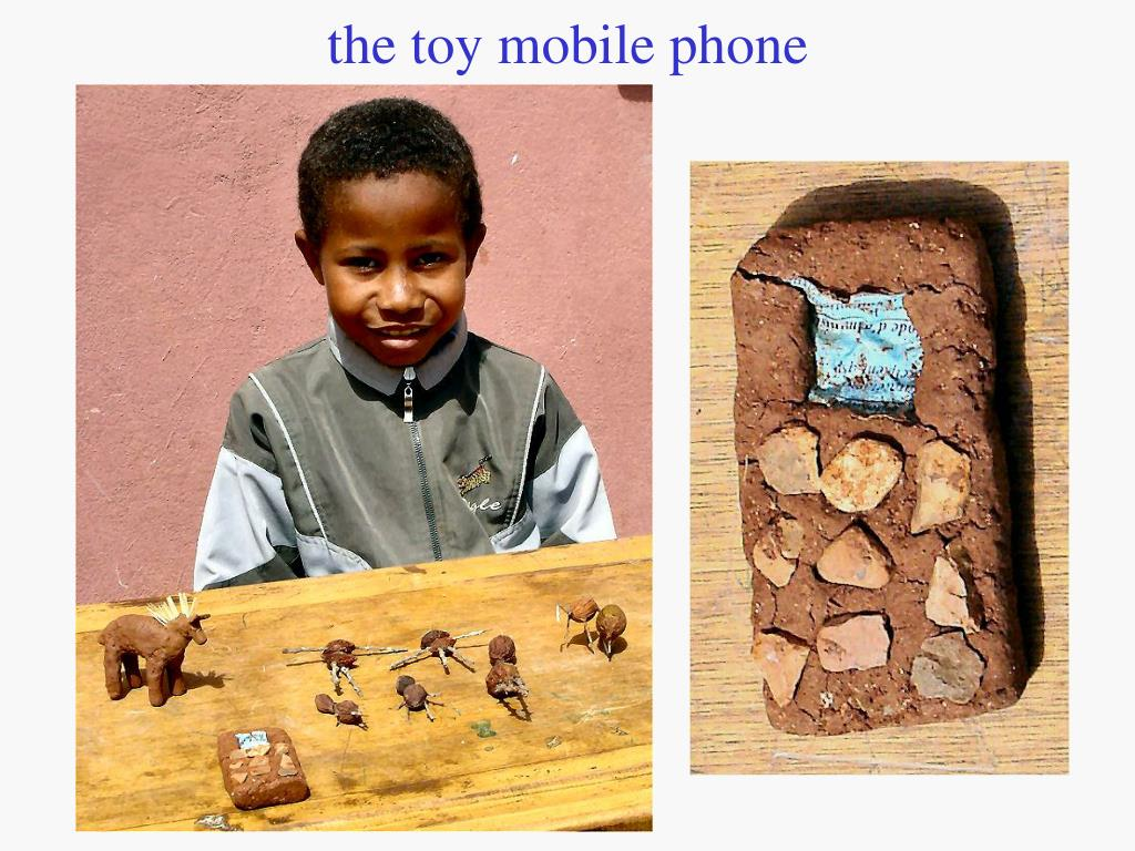 the toy mobile phone