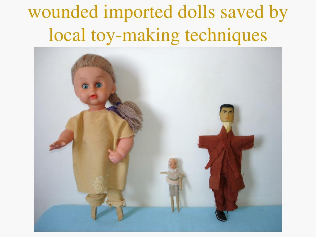 wounded imported dolls saved by