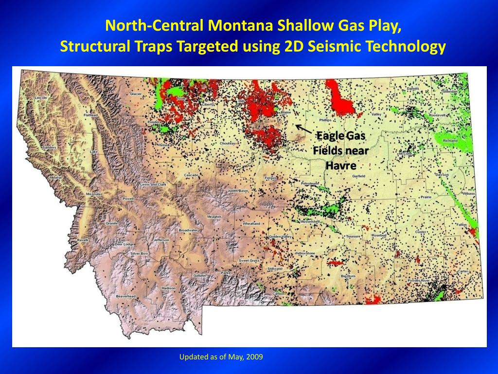 North-Central Montana Shallow Gas Play,