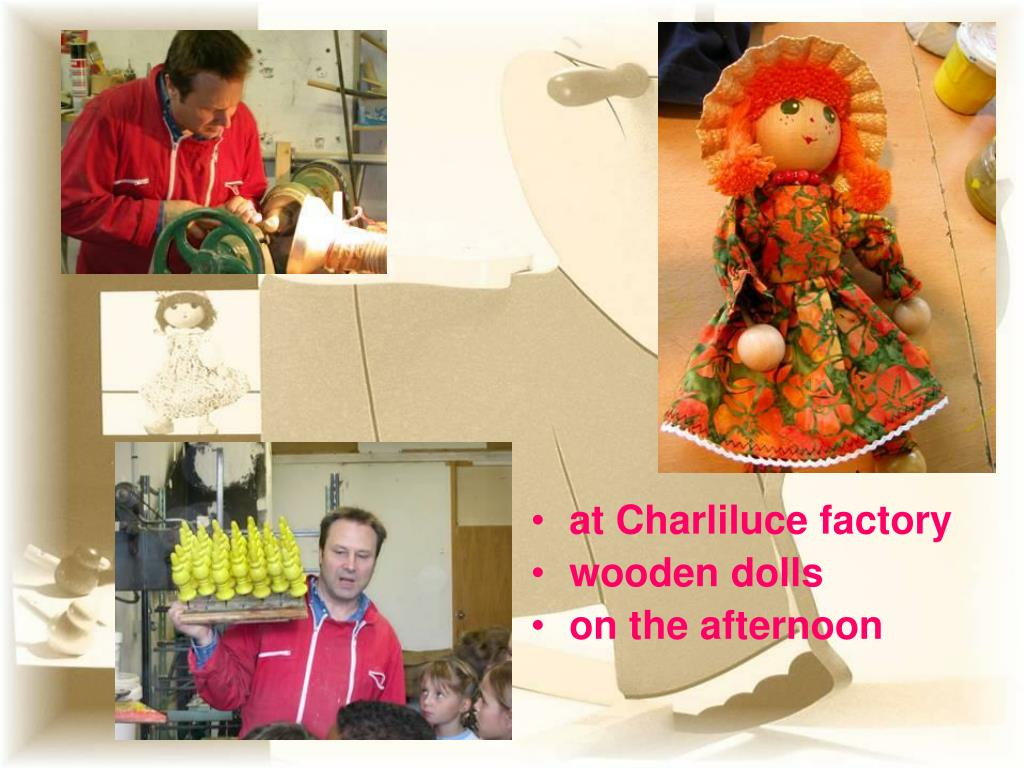 at Charliluce factory