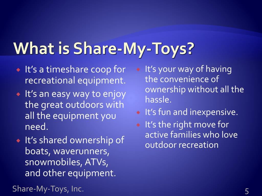 What is Share-My-Toys?