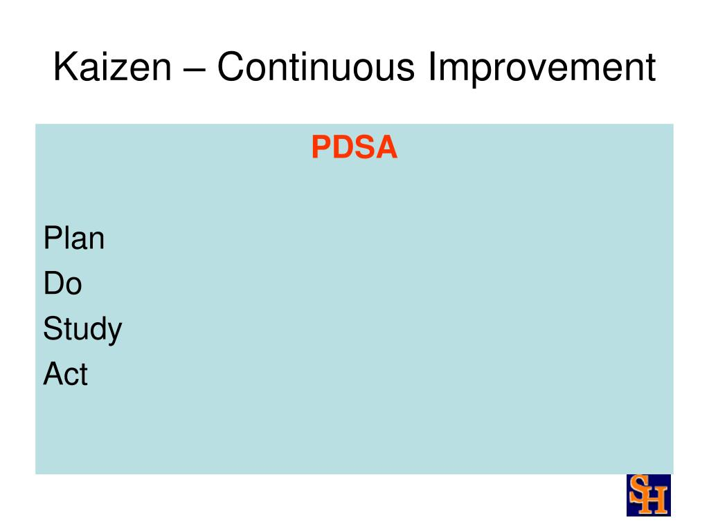 Kaizen – Continuous Improvement