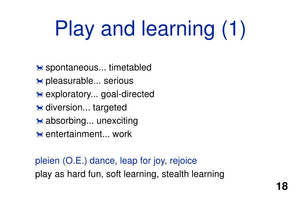 Play and learning (1)