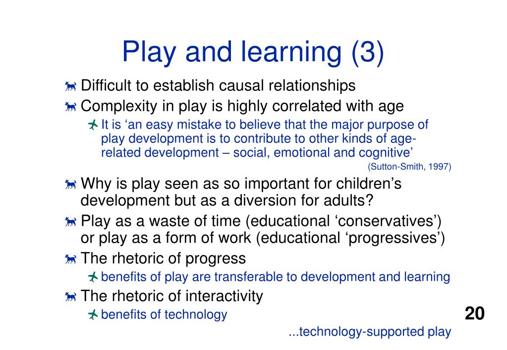 Play and learning (3)