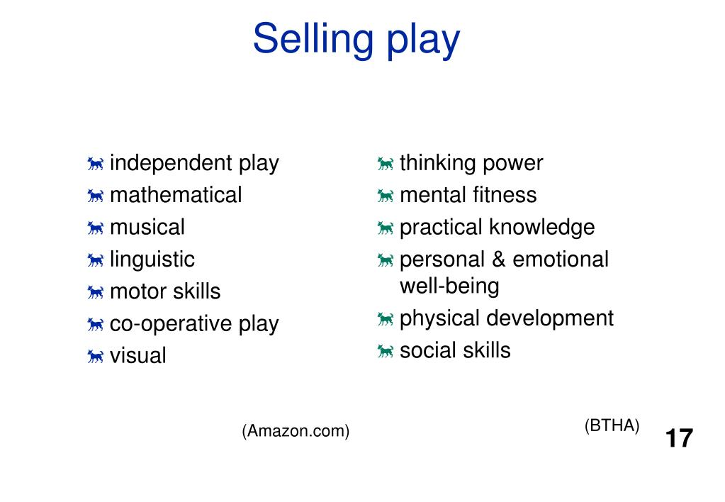 independent play