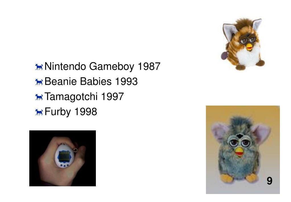Nintendo Gameboy 1987