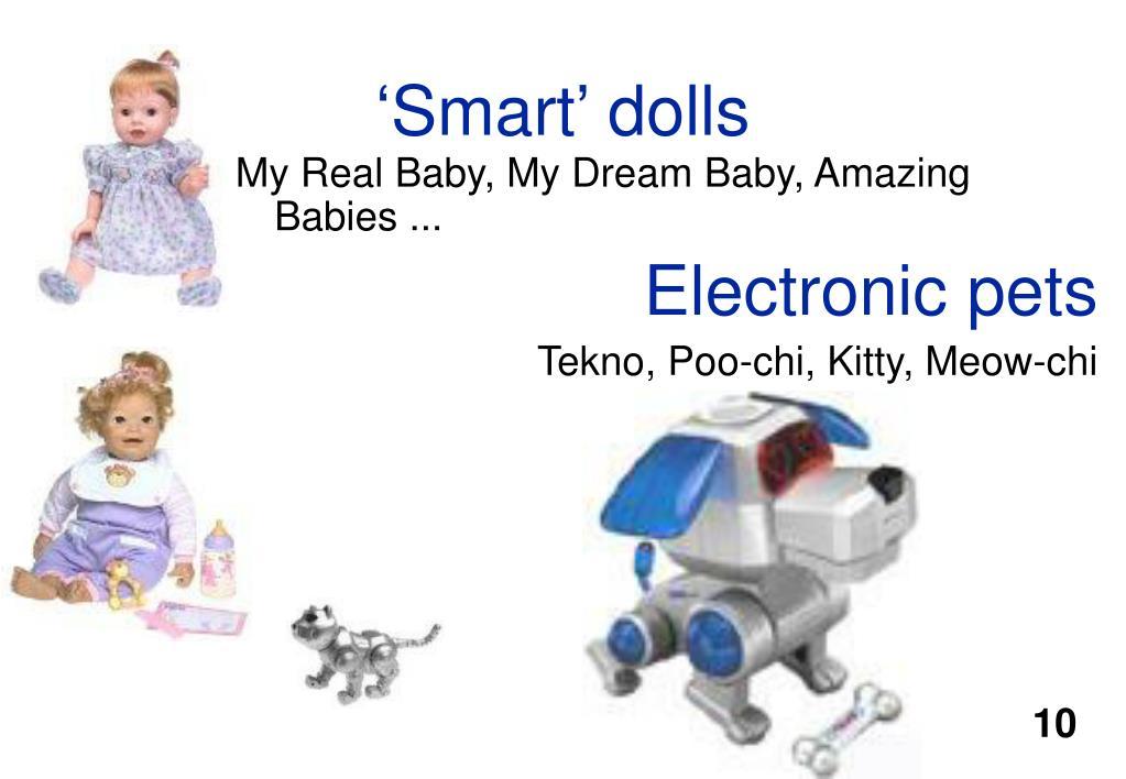 'Smart' dolls