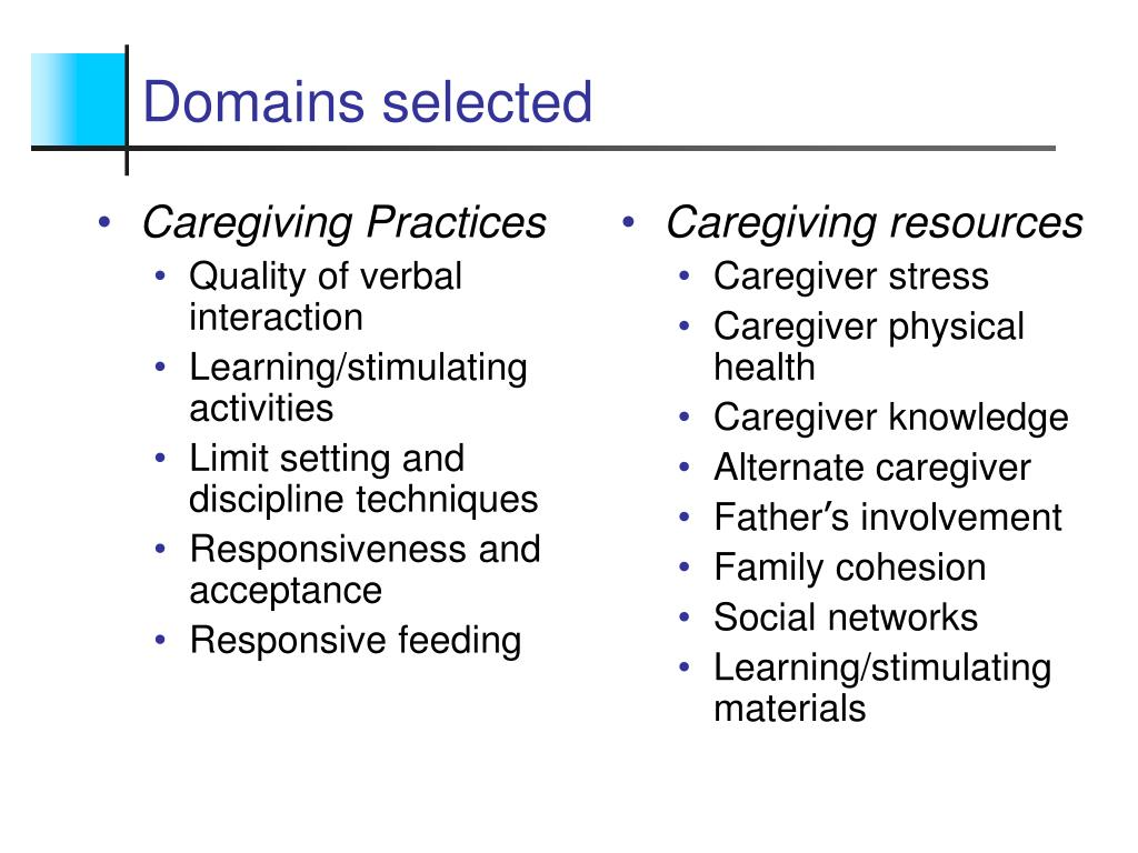 Caregiving Practices