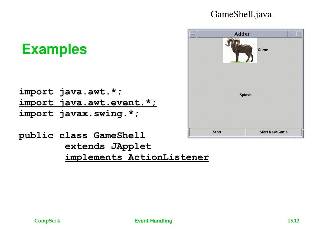 GameShell.java