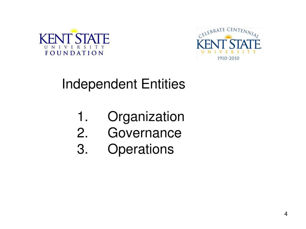 Independent Entities