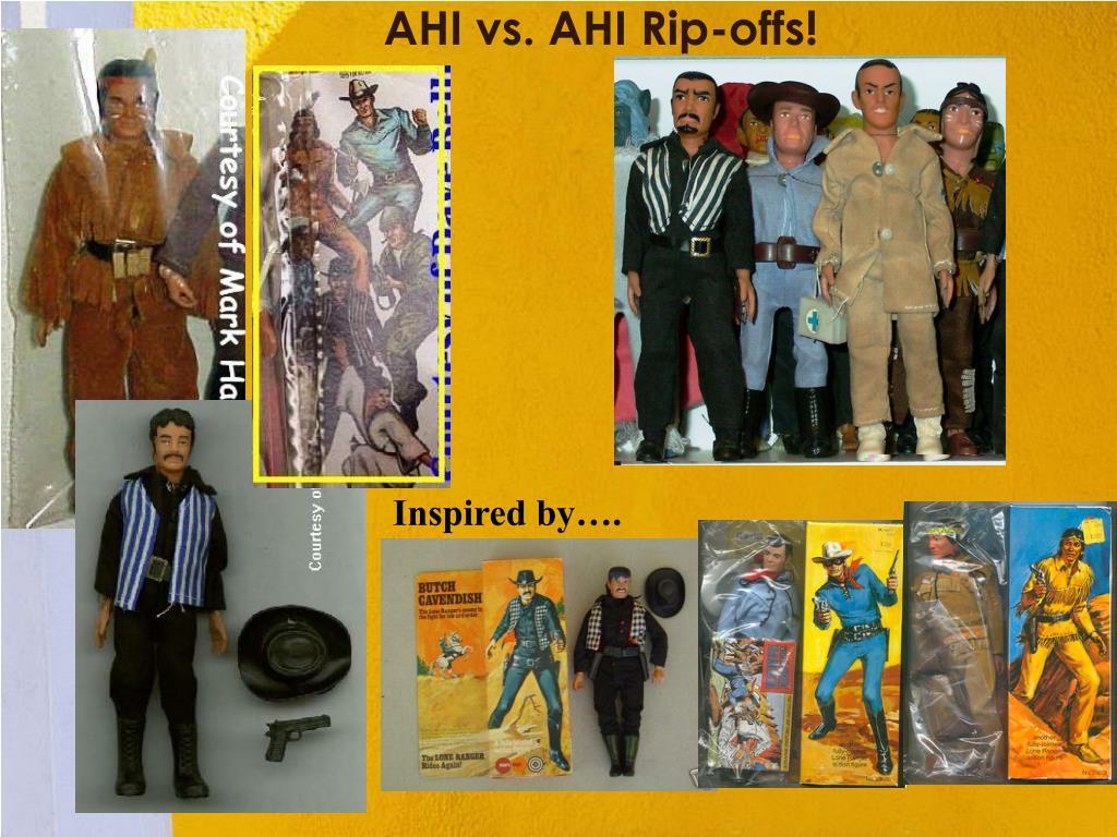 AHI vs. AHI Rip-offs!