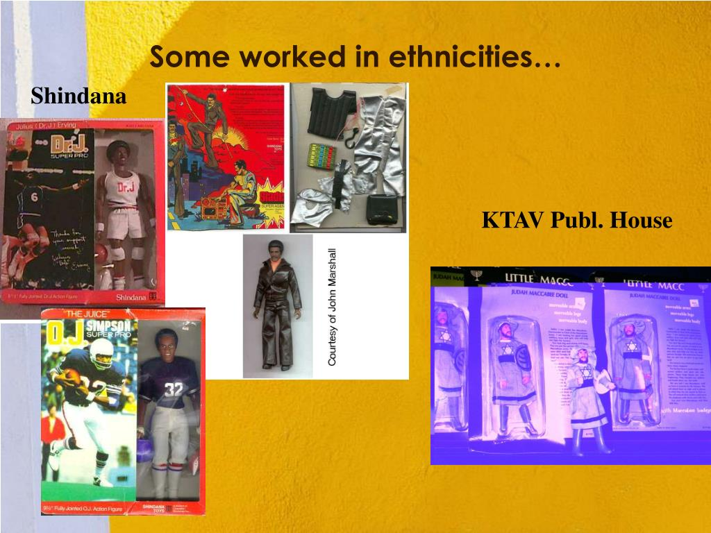 Some worked in ethnicities…