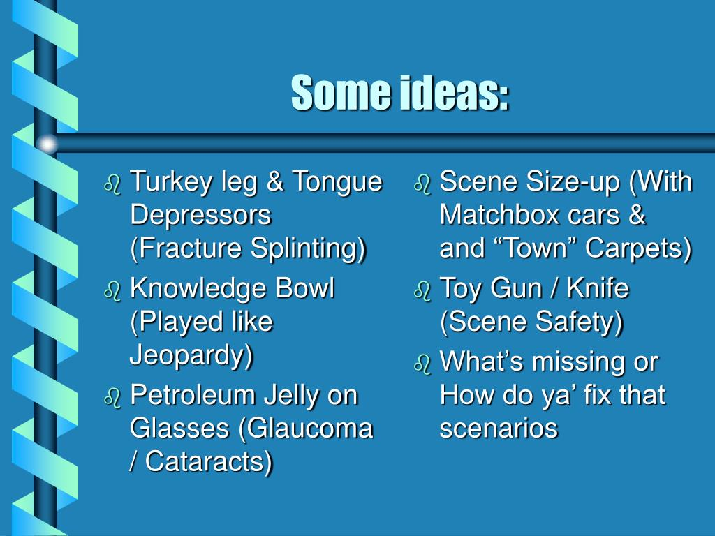 Turkey leg & Tongue Depressors (Fracture Splinting)